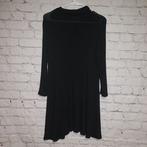 American Eagle Mock Neck Shift Dress